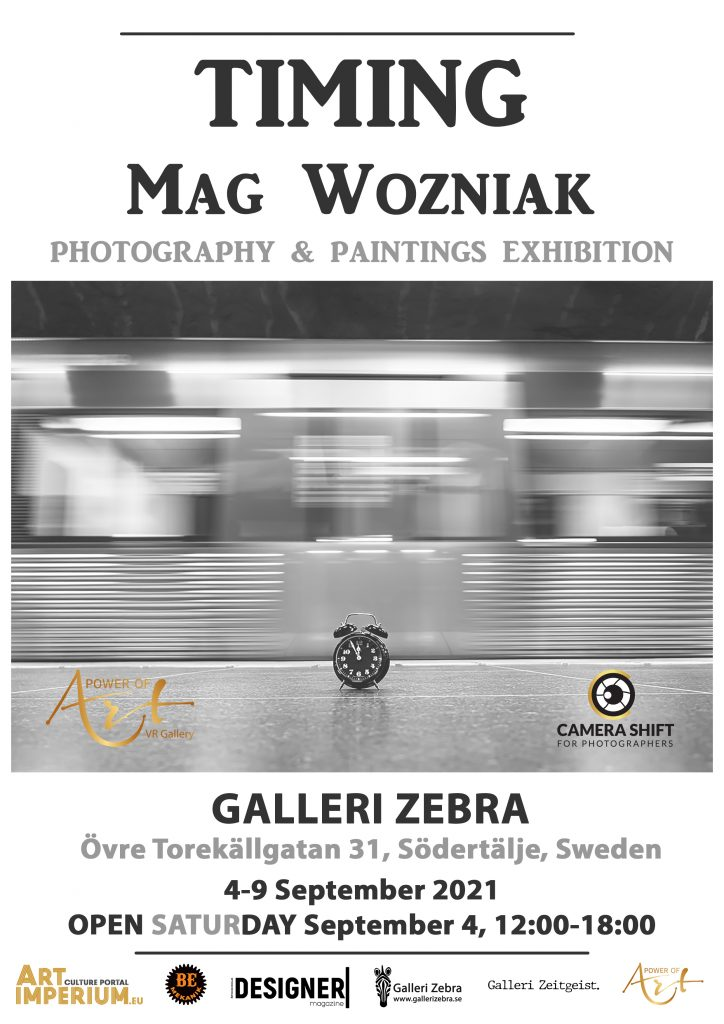 Timing - photography and paintings exhibition